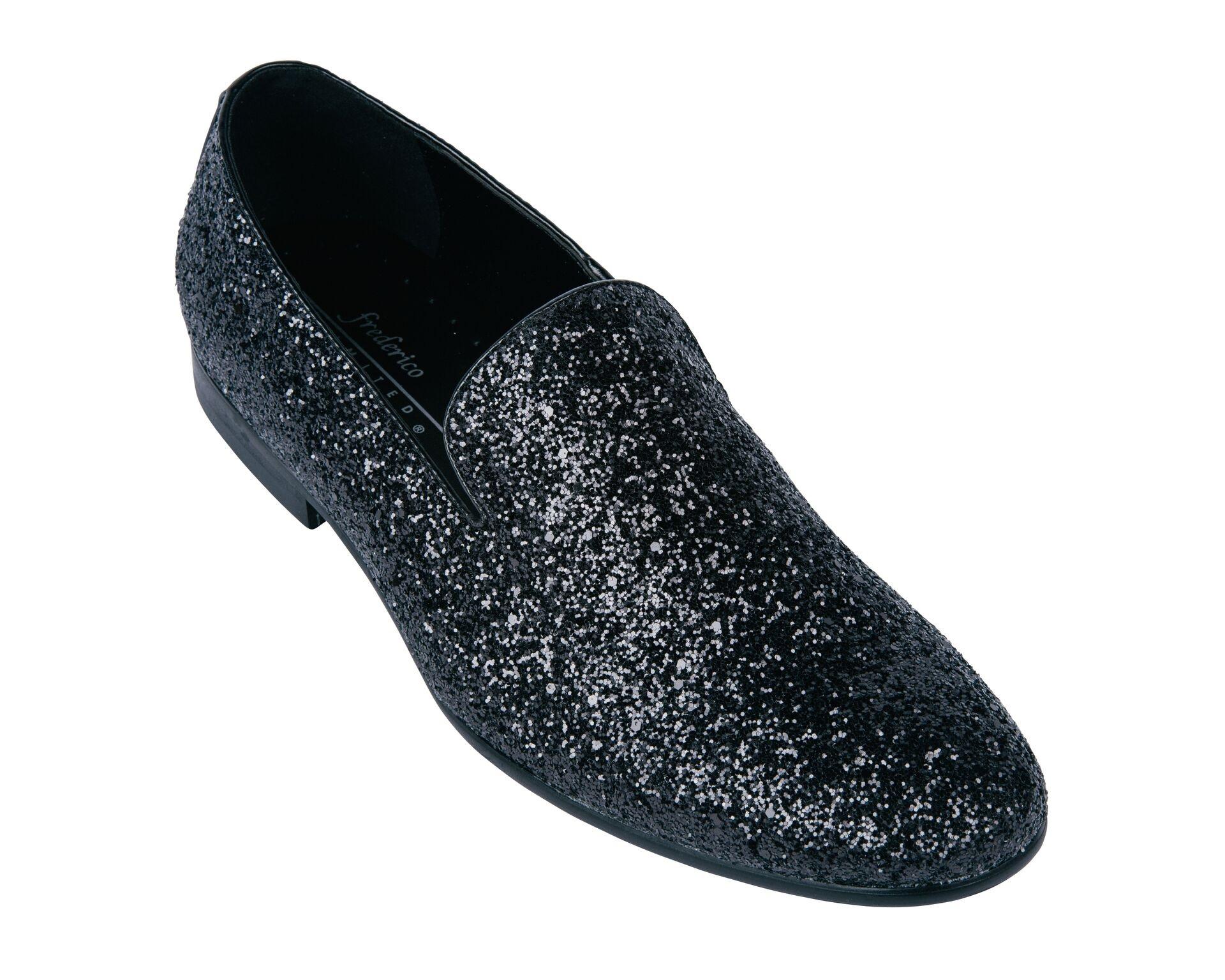 Sparkle Fun Shoes Black | Frederico Leone